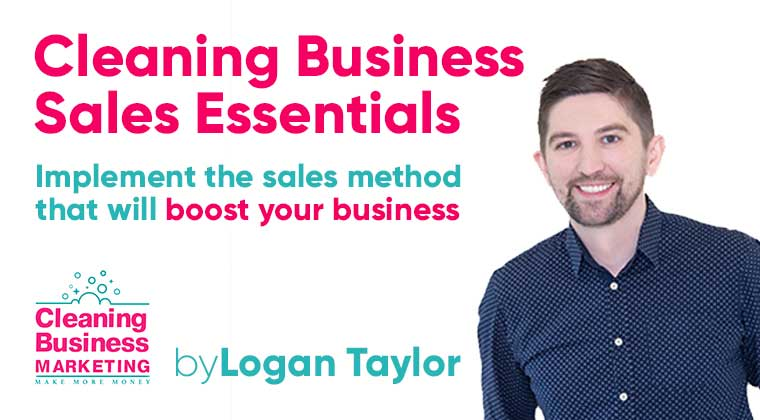 cleaning business sales essentials